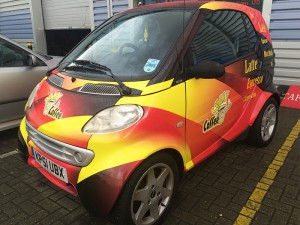 smart car wrapping in east london