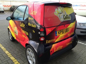 smart vehicle wrapping in east london