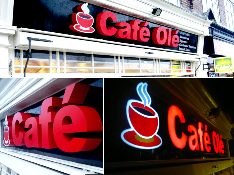 Illuminated Fascia Signs | Suppliers of Shop Front Signs in