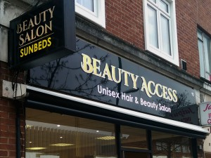 hair beauty salon-sign essex