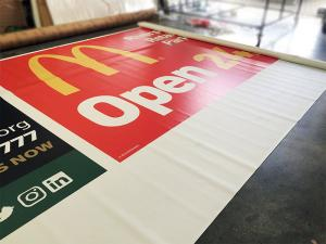 large format banner print Gravesend