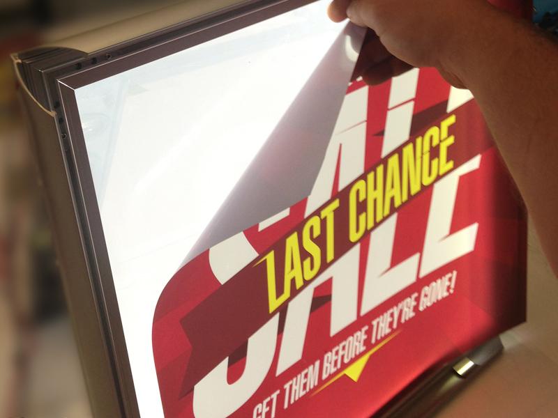 Backlit Poster Printing Service in Essex | Backlit Film
