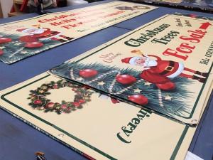 christmas banner print essex