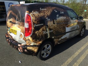 full car wrap east london