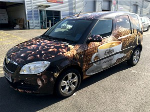 full car wrap in east london
