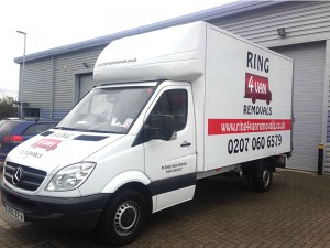 luton van graphics east london