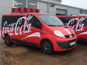 renault trafic graphic wrapping east london