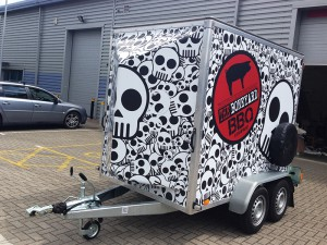 trailer wrapping east london