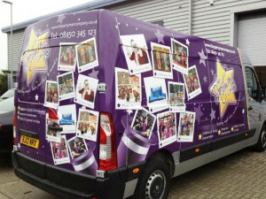 van wrapping in east london