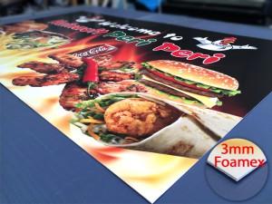 foamex graphic print