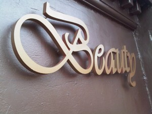 beauty salon signage in essex romford