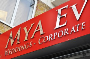 silver lettering signage thurrock