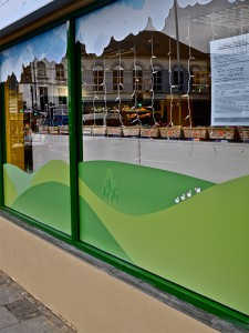 shop window decals essex